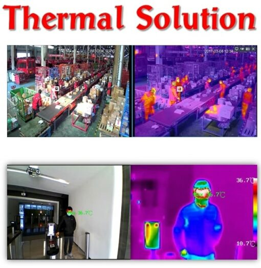 Thermal solution CCTV